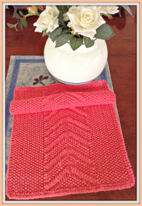 Free Seed Chevron Towel Pattern