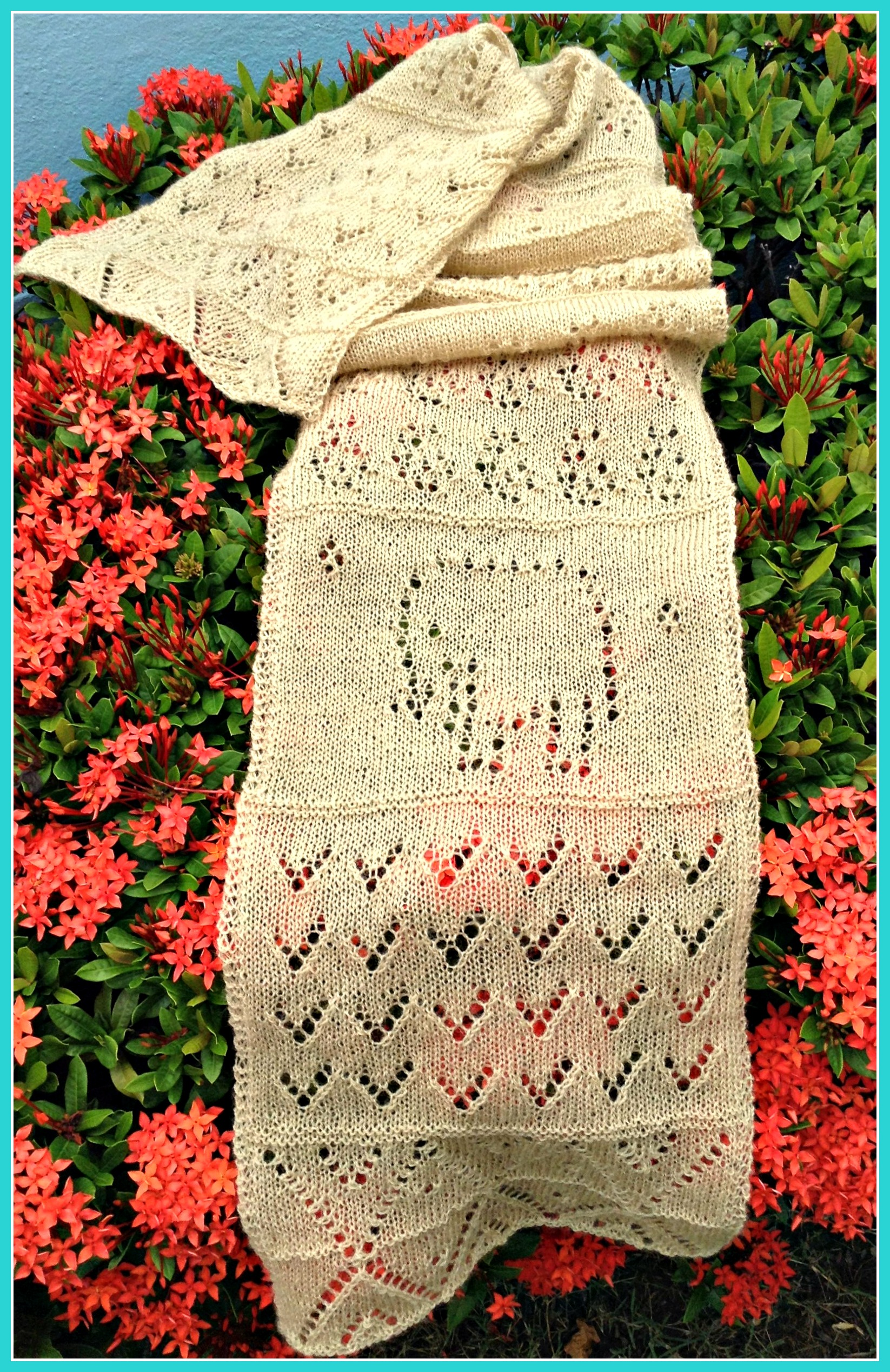 Knitting Pattern 2 Ply Scarf : A Travel-Inspired Shawl This Man Knits
