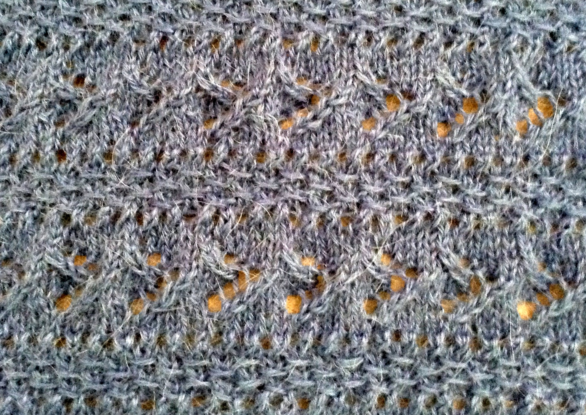 New Free Scarf Pattern: Lace and Texture Combined | This Man Knits
